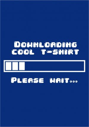 Downloading Cool T-shirt