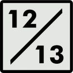 12/13 Anos